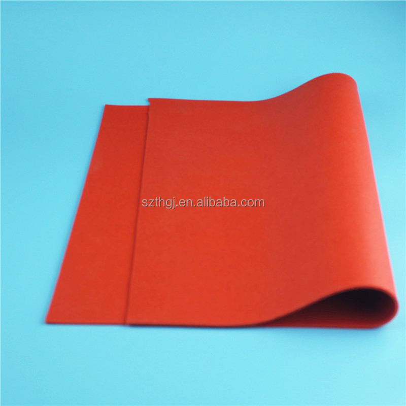 Factory wholesale Soft customized silicone rubber foam sheet with high quality