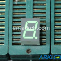 Single digits 7 segment LED digital screen