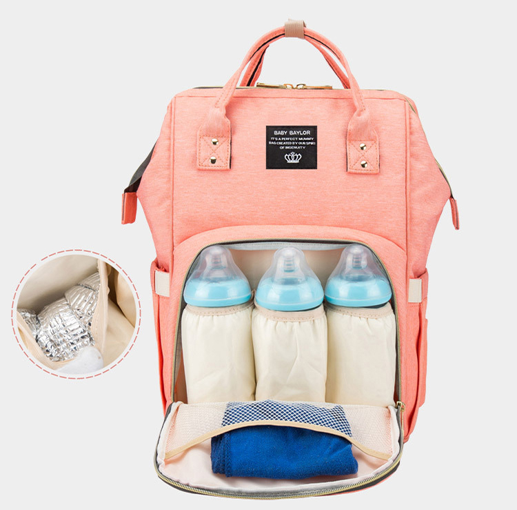 Waterproof Travel Mom Back Pack Fashion Baby Nappy Changing Bag Mommy Mummy Diaper Bag Backpack