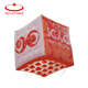 Light Pvc Promotional Inflatable Giant Floating Advertising Cube Rectangle Helium Balloon