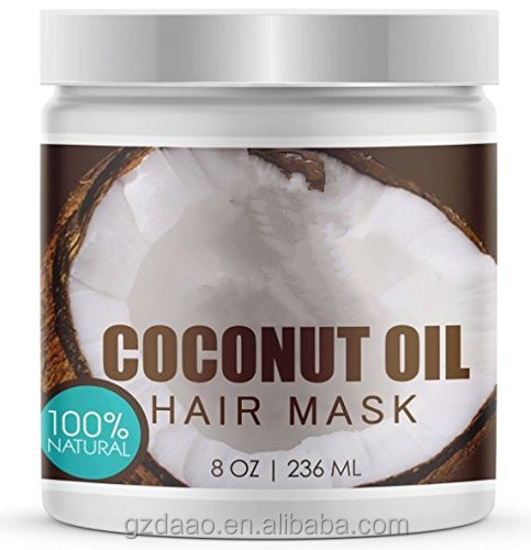 Natural Organic Herbal Pure Coconut Oil Hair Mask