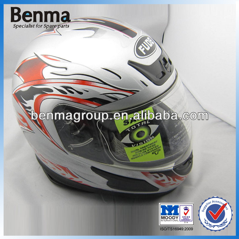 Best ECE Motorcycle Helmet White Color, Motorcycle Helmet for Winter, Full Face Motorcycle Helmet with Scarf HOT SELL!!