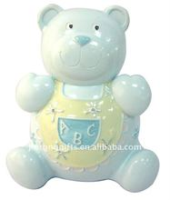 80215/B105 Money Bank Polyresin Bear