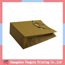 Wholesale Paper Gift Bags China Paper Wine Bag Golden Supplier