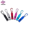 Mini Pocket 4 led keychain torch Battery Included