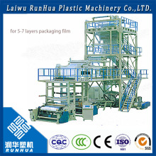 plastic carry bag film blowing machine