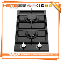 The best selling line Catering Equipments Kitchen Battery/Electric Ignition 2 stove gas burner (PG3020BG-CCB)