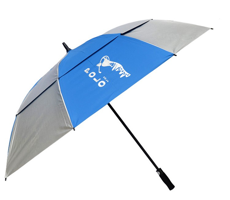 Custom Design Adjustable Sun and rain Sun protection golf umbrella/water repellent umbrella