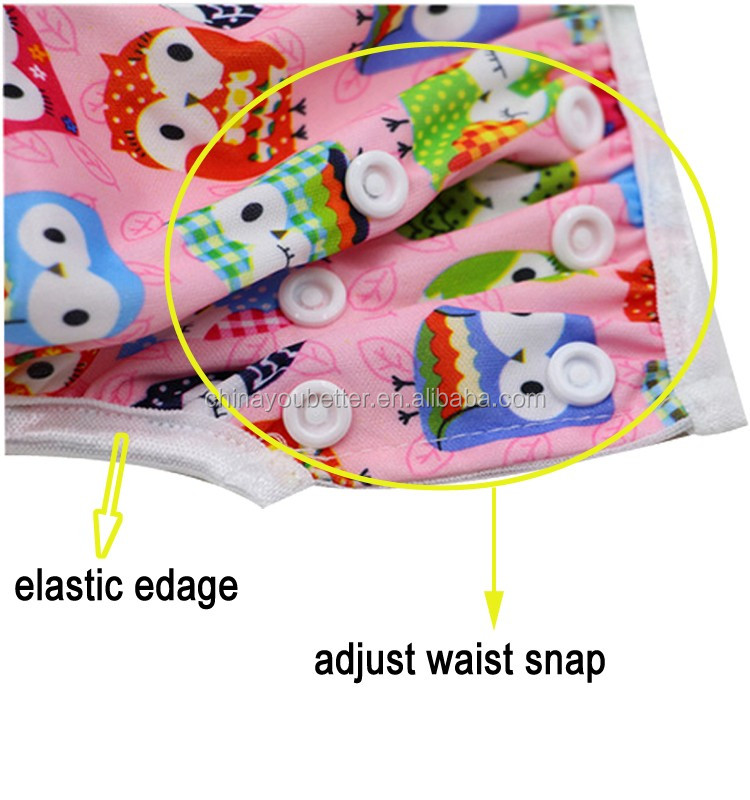 Washable Cloth Diaper Reusable Baby Swimming Nappies Waterproof Swim Diapers