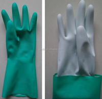 Industrial Long Sleeve Rubber Gloves