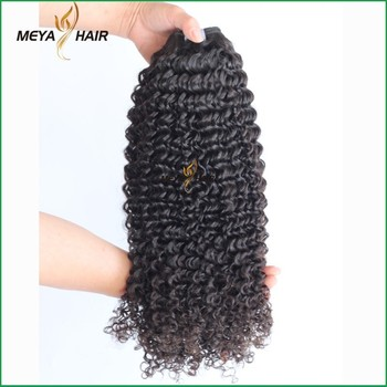 New fashion Brazilian human hair natural small curly hair bundle