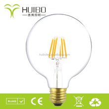 global big ball e27 e26 120V 220V 4W 6W 8W dimmable warmwhite g95 led bulbs