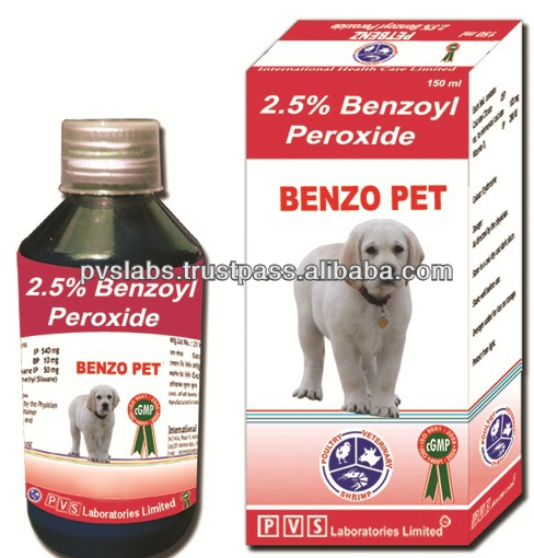 Benzoyl Peroxide for dog medicine