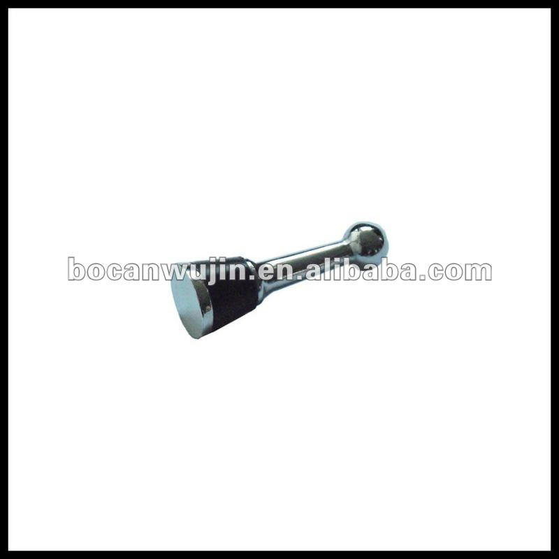 Aluminum wine bottle stopper parts