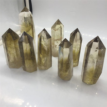 Wholesale Natural Citrine Crystal <strong>Point</strong> Wand Healing <strong>Points</strong> for Sale