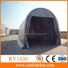 Factory supplier RV shed 1430 with rail door, Home The Boat Warehouse Cover