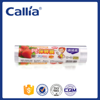 Disposable Food Package Film Plastic Food Wrap Plastic Cling Film