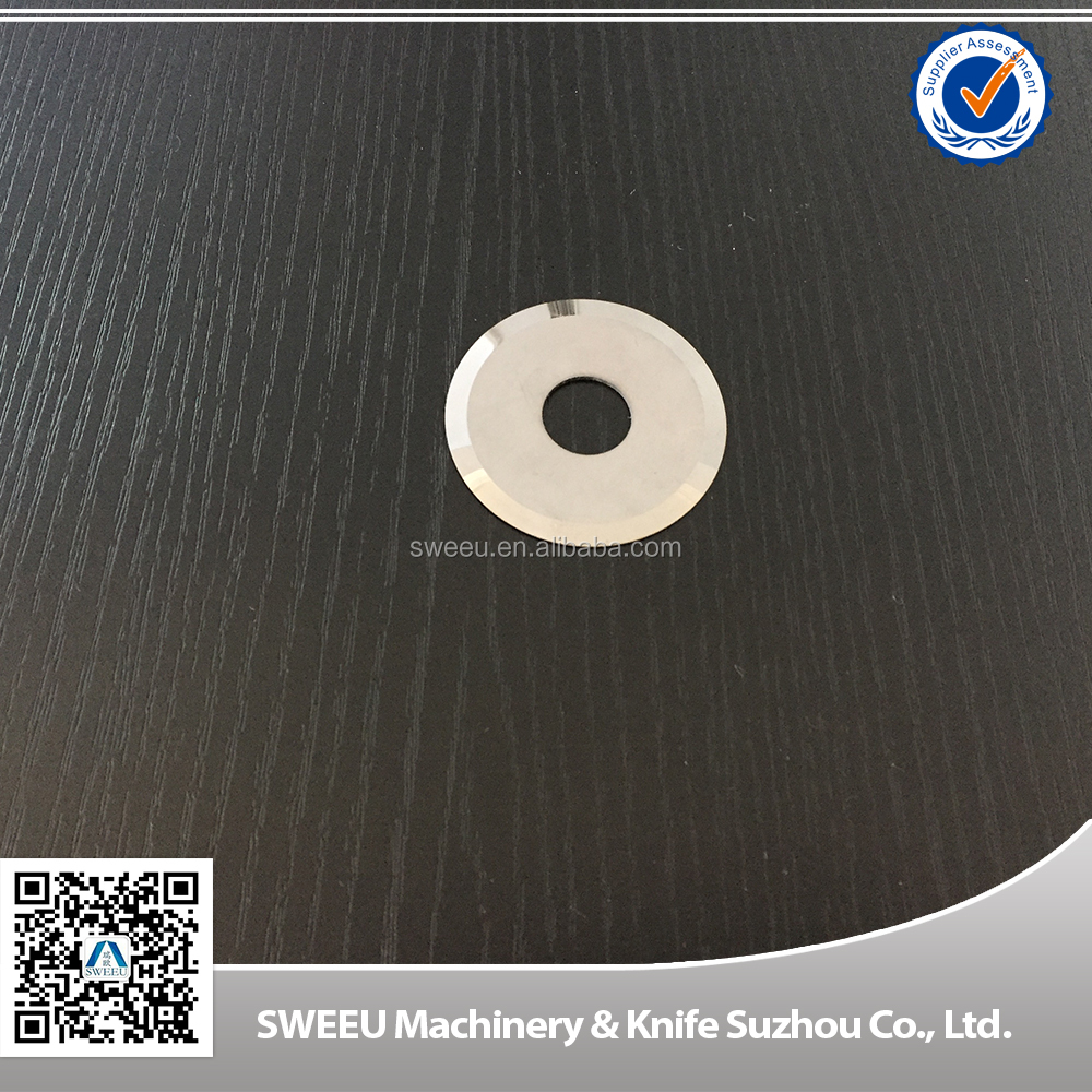 Circle Cutting Blades/Knives For Paper /Film/Plastics/Cardboard