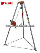 High working pressure fire safety tripod