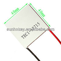 TEC1-12715 12V 15A 134W 40*40MM Heatsink Thermoelectric Cooler Cooling Peltier Plate Module