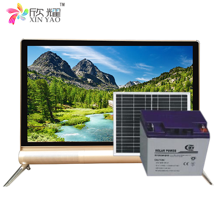 "15""17 19 DC 12V Input Solar LED TV with Low power Consumption /19""-24"" DC 12V Solar Powered LED TV"