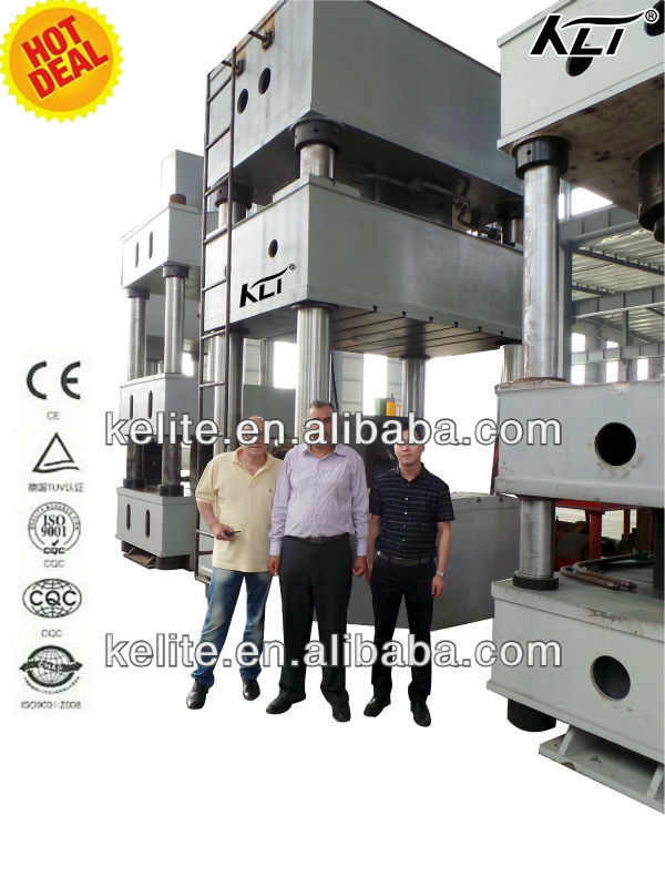 four columns press machine 630 ton,ceramic press machine