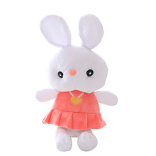 Hot selling Good-looking 30cm custom plush fabric bunny rabbit toys