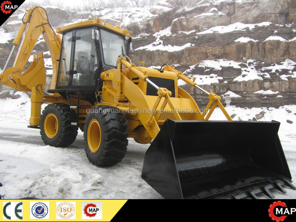 WZ30-25 type Compact four drive backactor loader