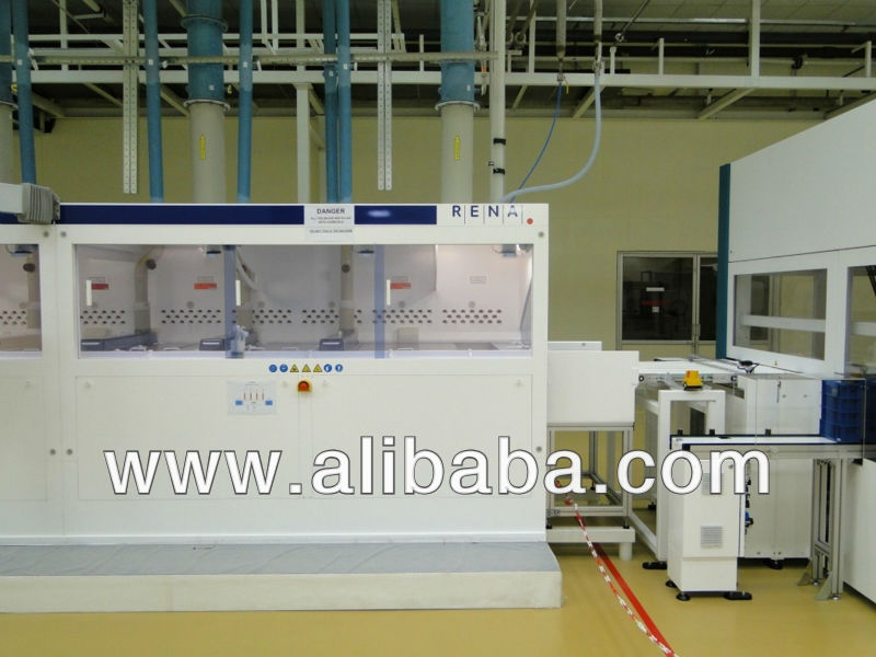 RENA INTEX INOX Wetbench Solar Cell Production Equipment