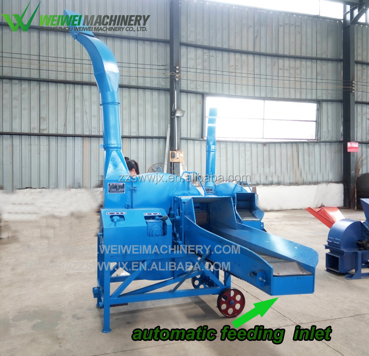 Weiwei feed cutter newest goat feed grass hammer mill