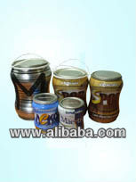 shaped cans for paints and lacquers