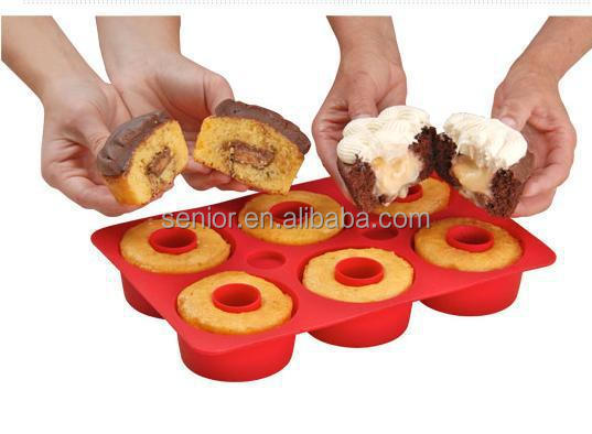 Magic cupcake mold,silicone bakeware,silicone cupcake secret as seen on TV