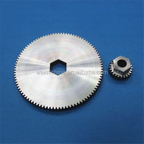 Oem Cnc Machining Service Stainless Steel Recliner Parts with gear