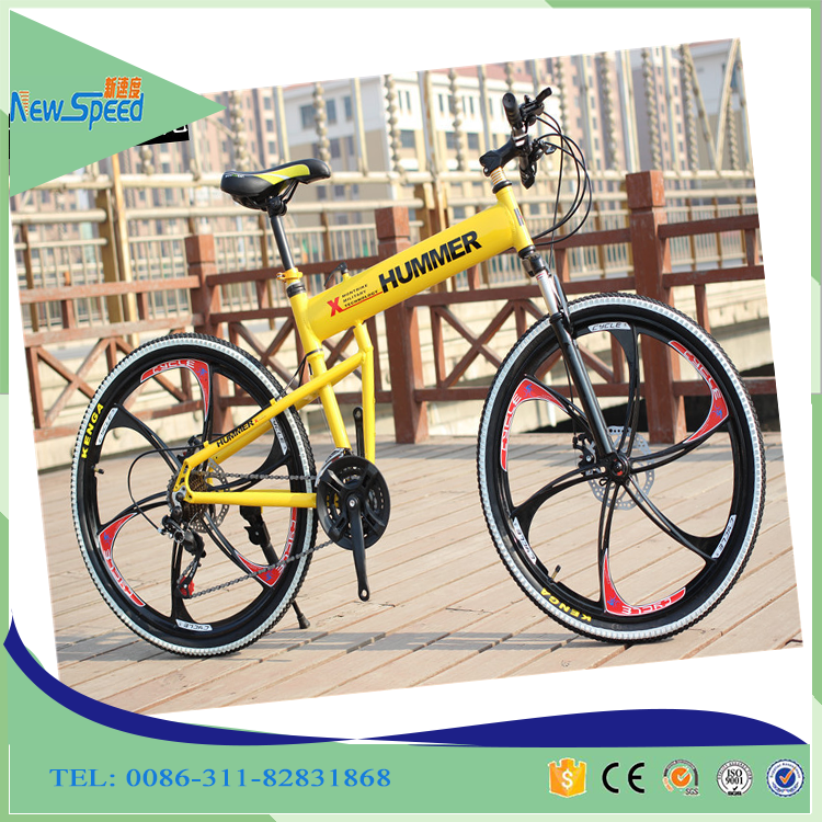 2017 Best selling full suspension hummer used folding mountain bike for outdoor sports