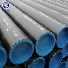 Tianjin astm a36 steel pipe 2inch-16 inch Seamless Carbon Steel Pipe black coating