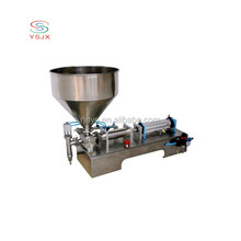 Factory direct pneumatic juicer/cbd oil/silicone sealant filling machine for cosmetic