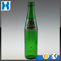 285ML EMPTY LEMONADE BEVERAGE GREEN GLASS BOTTLE