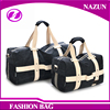 2016 Two Size Small & Large Capacity Oversized Weekend Canvas Travel Duffel Bag for Women and Men