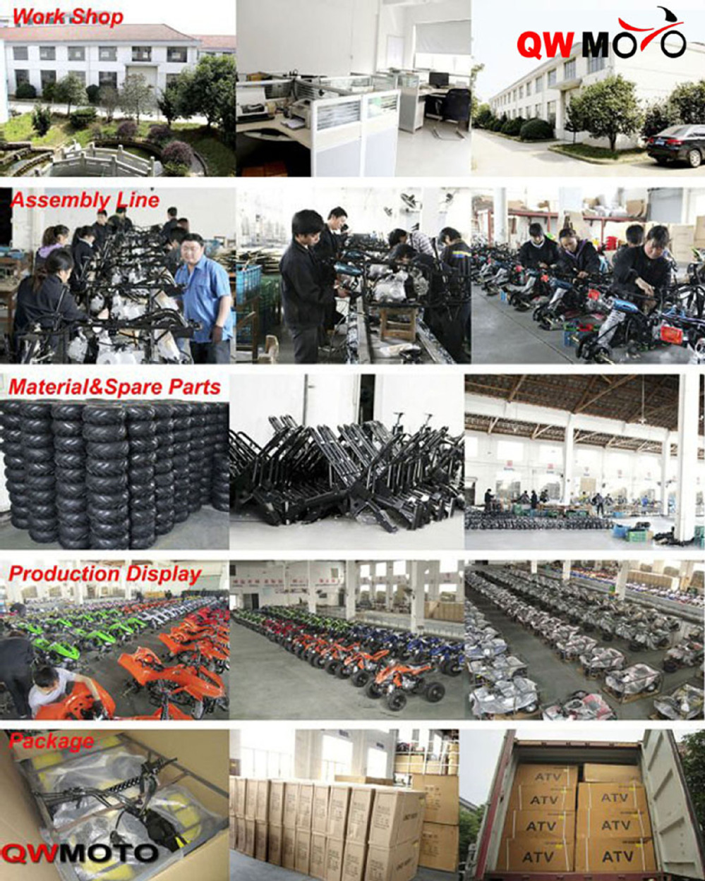 110cc ATV Automatic QUAD ATV 110cc 4 Wheeler Buggy Sports QUAD Bike QWATV-02F