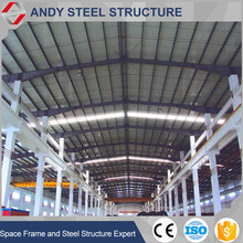good quality steel structure prefab workshop shed low cost