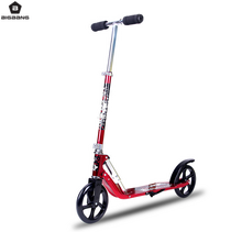 BIGBANG two wheels kick scooter aluminum alloy PU 200mm mini big wheels foldable adult scooter