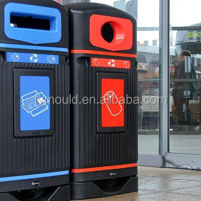 Plastic 50L Dust-bin Mould