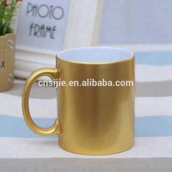 Promotional Custom Color 11OZ Ceramic Mug With C-Handle