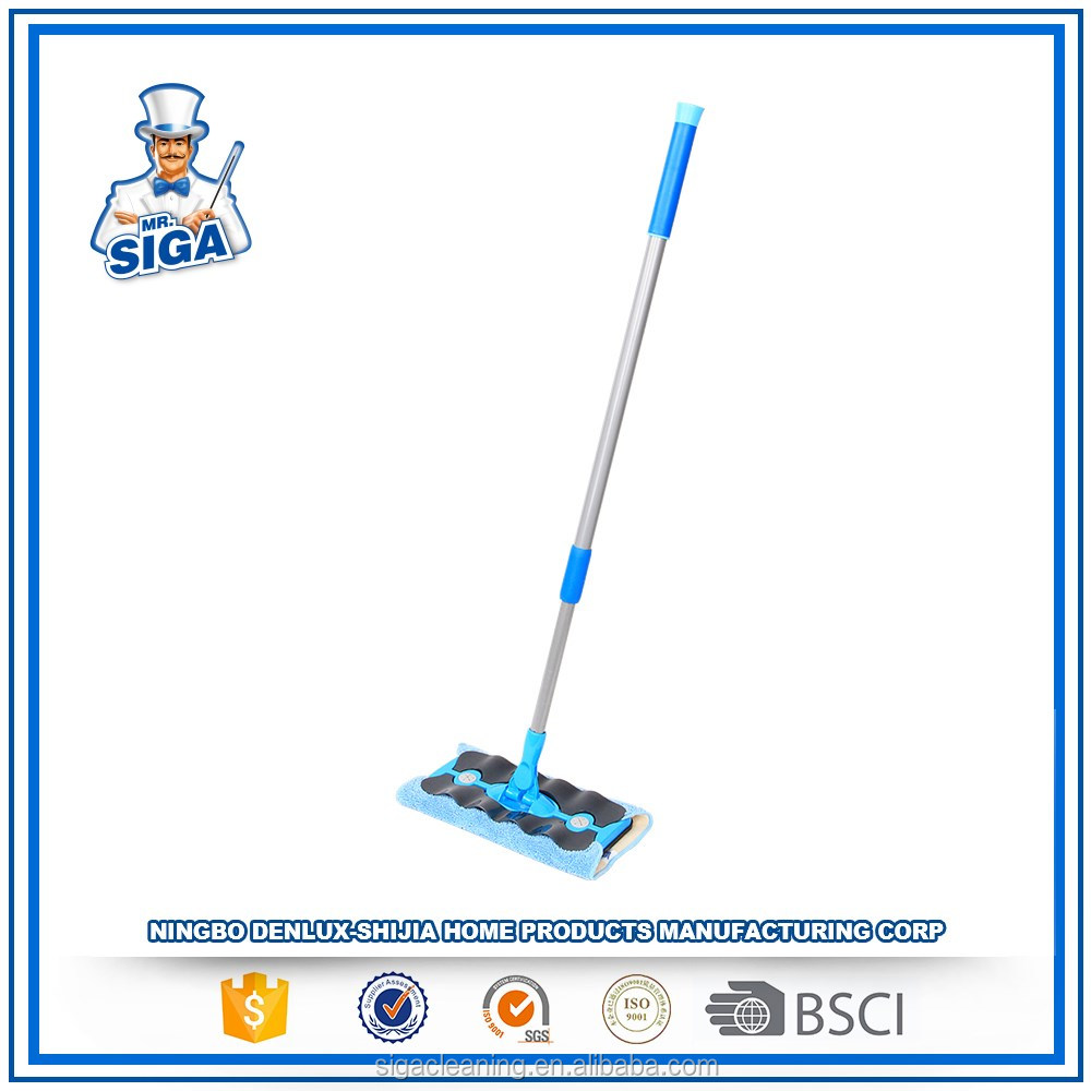 Mr. SIGA Online Shopping Magic Fabric Water Flat Cleaning Mop