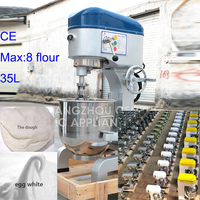 flour food blender, commercial dough mixer, bakery breads creams mixer