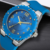 couple silicone watch luxury