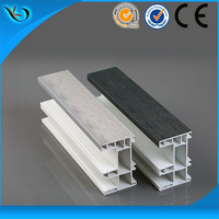 Eco friendly customized End Cap/side Frame Aluminum Door And Window