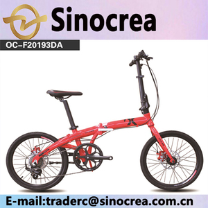 factory price 20 size 6 speed aluminum alloy folding bike for sale