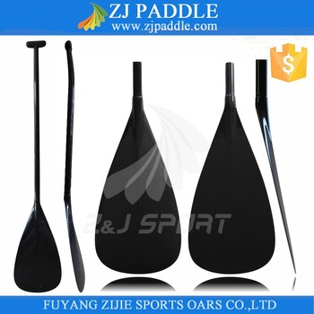 Bent Shaft Carbon Fiber Outrigger Boat Paddle