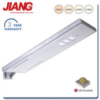 3 Years Warranty Lamp With Sensor Motion Solar Panels 30W LED Street Light
